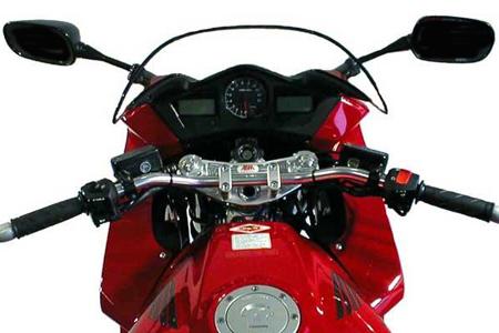 abm superbike lenker umbau kit honda vfr 800 vfr800 rc46. Black Bedroom Furniture Sets. Home Design Ideas